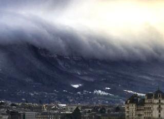 瑞士日內瓦海嘯雲 - 和風廣場